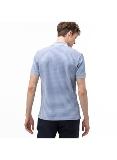 Lacoste Erkek Regular Fit Tişört PH5055.XGW Mavi